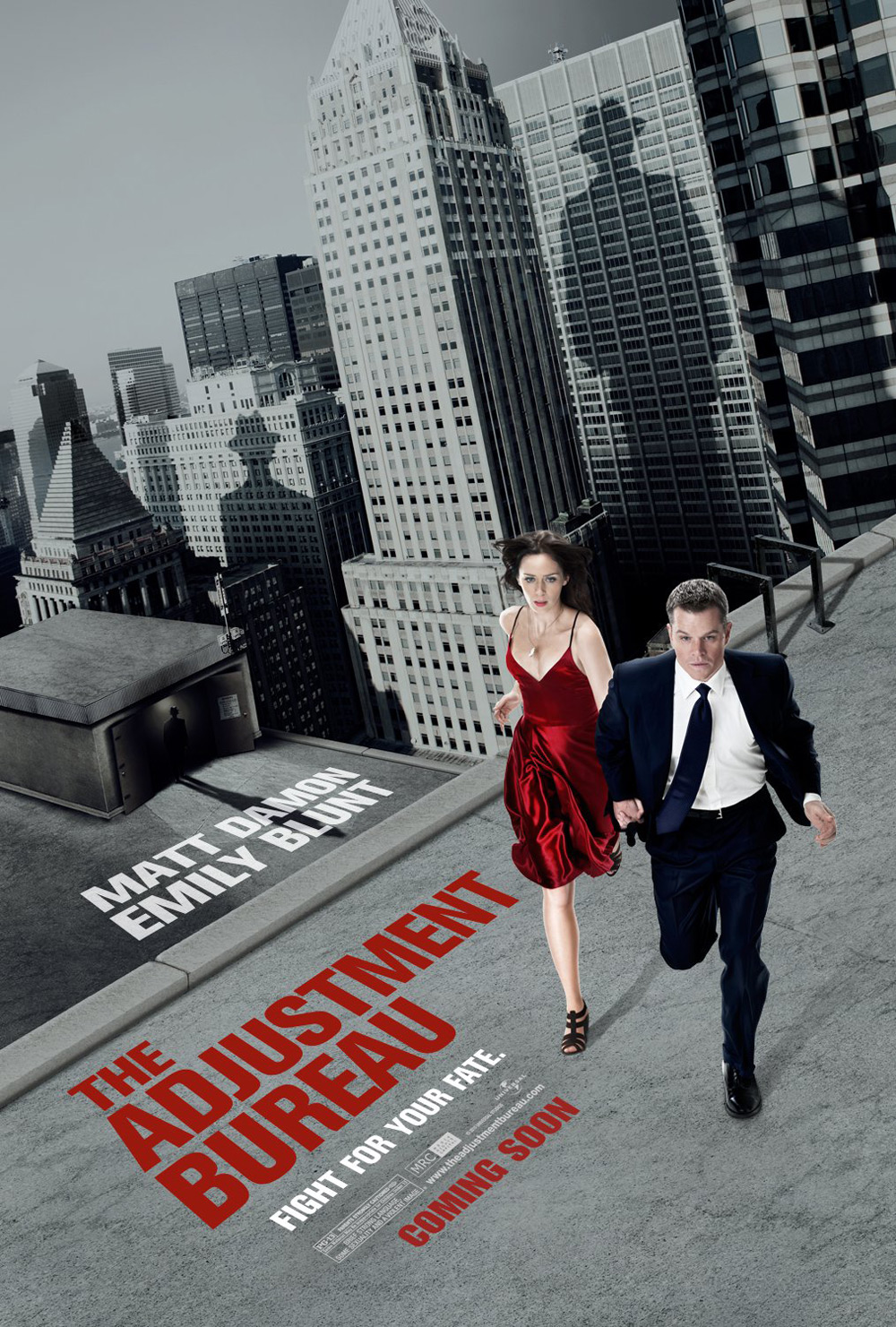 The Adjustment Bureau A perfect day