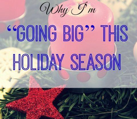 going big this Christmas, celebrating Christmas, all out on Christmas