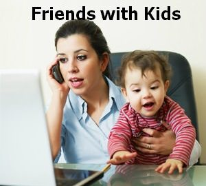 childless people, friends with kids, parents with single friends