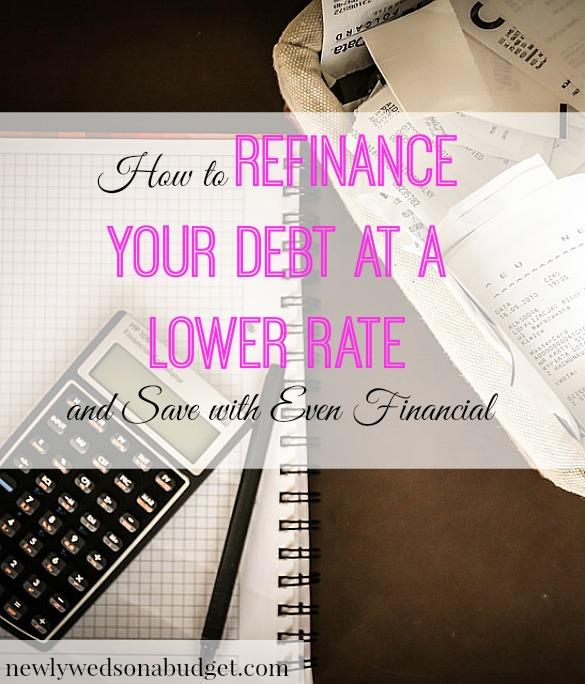 refinancing debt, debt tips, debt advice