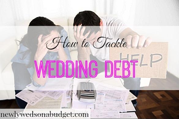 wedding debt, tackling wedding debt, wedding debt advice