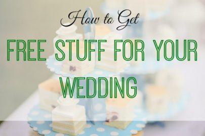 free wedding stuff, wedding tips, wedding hacks