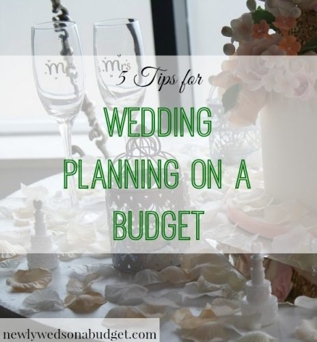 5 Tips For Wedding Planning On A Budget