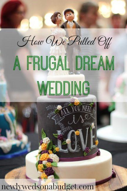 frugal wedding, frugal dream wedding, cheap wedding tips