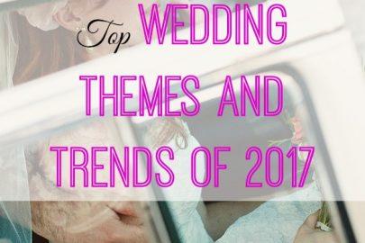 wedding trends, wedding themes, wedding 2017