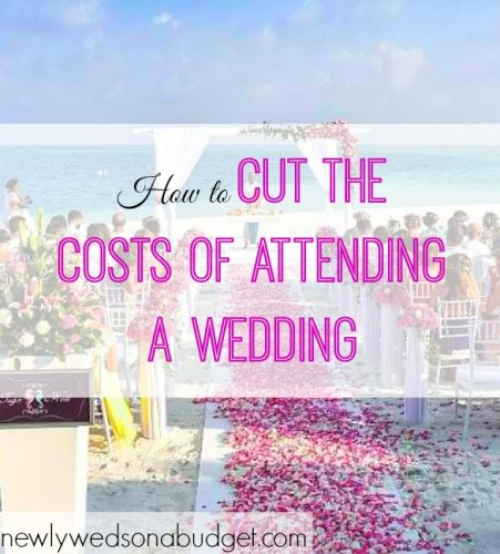 costs of attending a wedding, attending a wedding expenses, wedding guest costs
