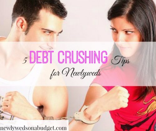 debt tips for couples, debt advice for married couples, debt tips for newlyweds