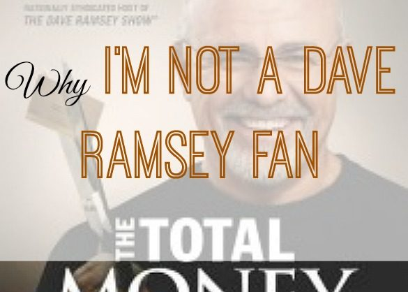 not a Dave Ramsey fan, fighting debt, debt tips