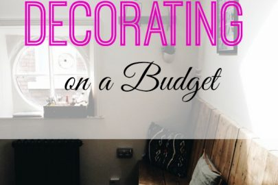 decorating on a budget, frugal decorating, affordable decorating