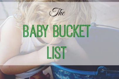 baby bucket list, life checklist, bucket list