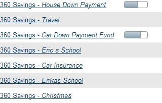 CapitalOne Savings Accounts