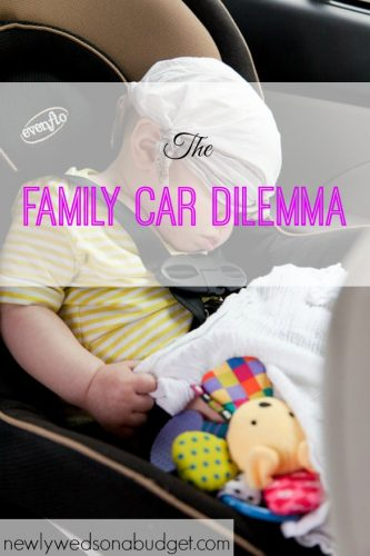 choosing a baby car seat, baby car seat problems, family car issues