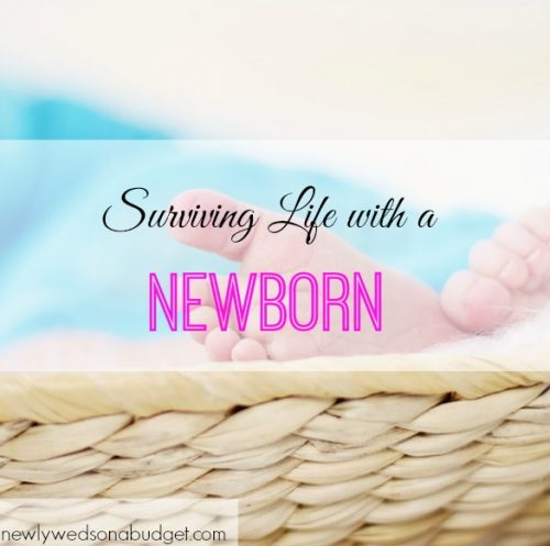 having a newborn baby, baby tips, surviving with a newborn