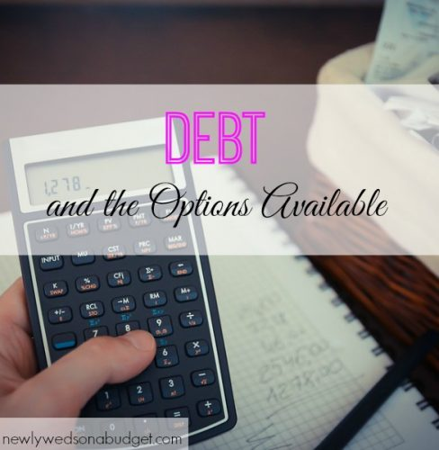 debt options, paying off debt tips, getting out of debt
