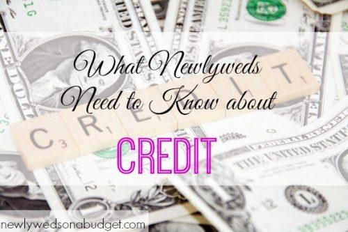 marriage tips, newlyweds advice, newlyweds and credit