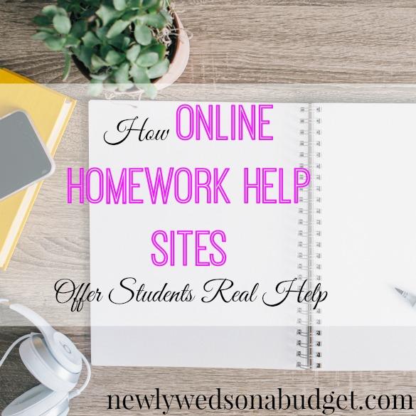 Homework help budget