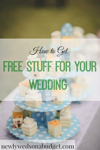 free wedding stuff, wedding tips, wedding hacks