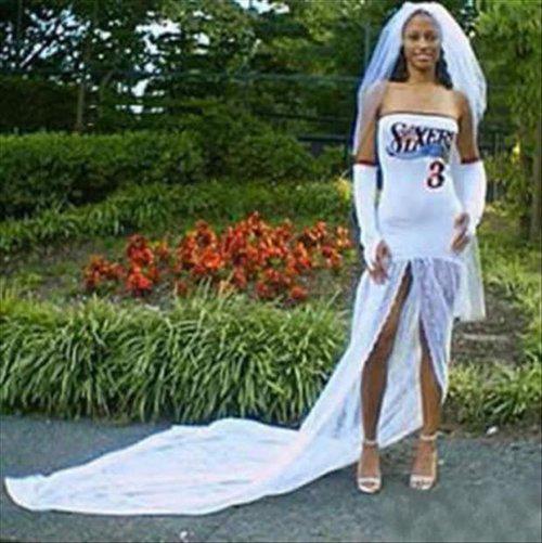 Ugly Wedding Dress 3 Newlyweds On A Budget
