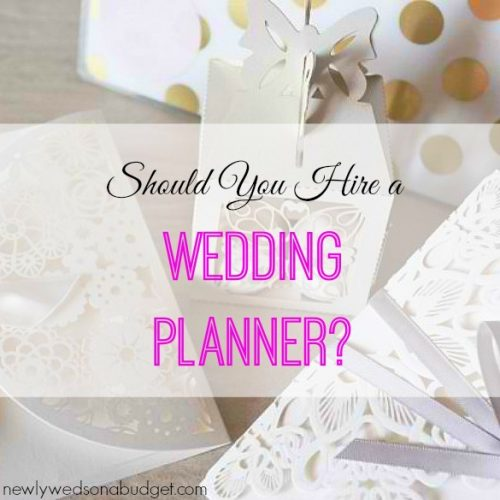 should you hire a wedding planner here s why i didn t newlyweds
