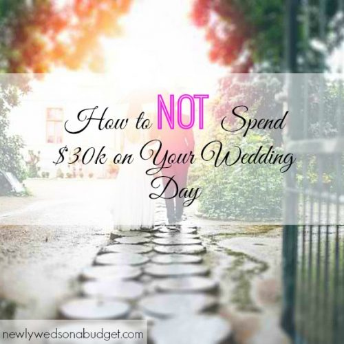 budget wedding, wedding expenses, spending on your wedding