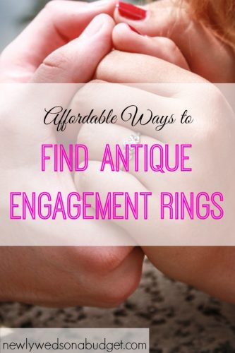 engagement ring tips, antique engagement rings, ways to find antique engagement rings