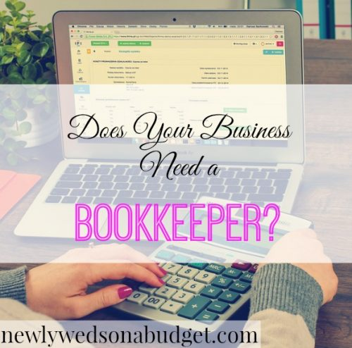 small business advice, small business tips, getting a bookkeeper for your business