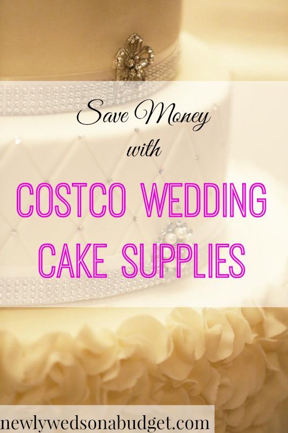 costco wedding cake supplies , Newlyweds on a Budget