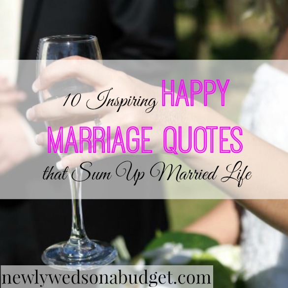 Wedding Quotes For Newlyweds: Newlyweds On A Budget