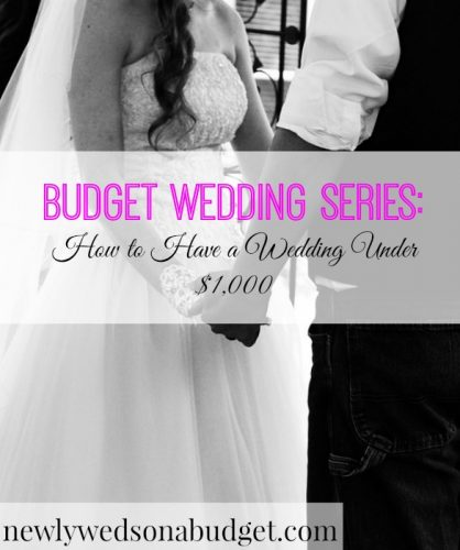 how to have a wedding under 1 000 newlyweds on a budget