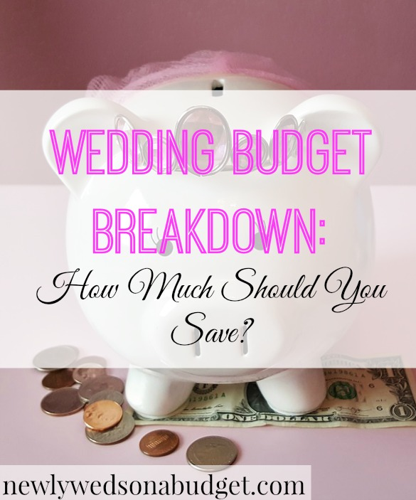 Wedding Budget Breakdown: How Much Should You Save
