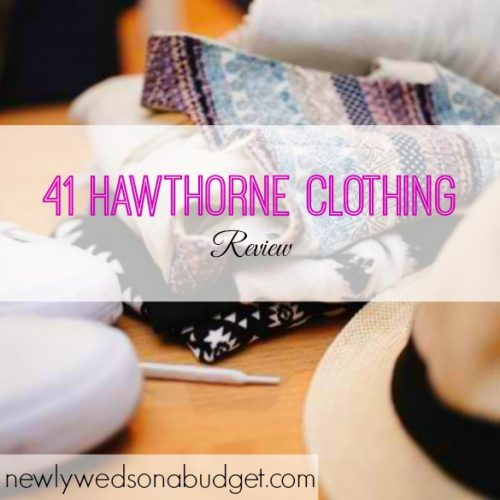 clothing review, 41 Hawthorne Clothing, clothing options