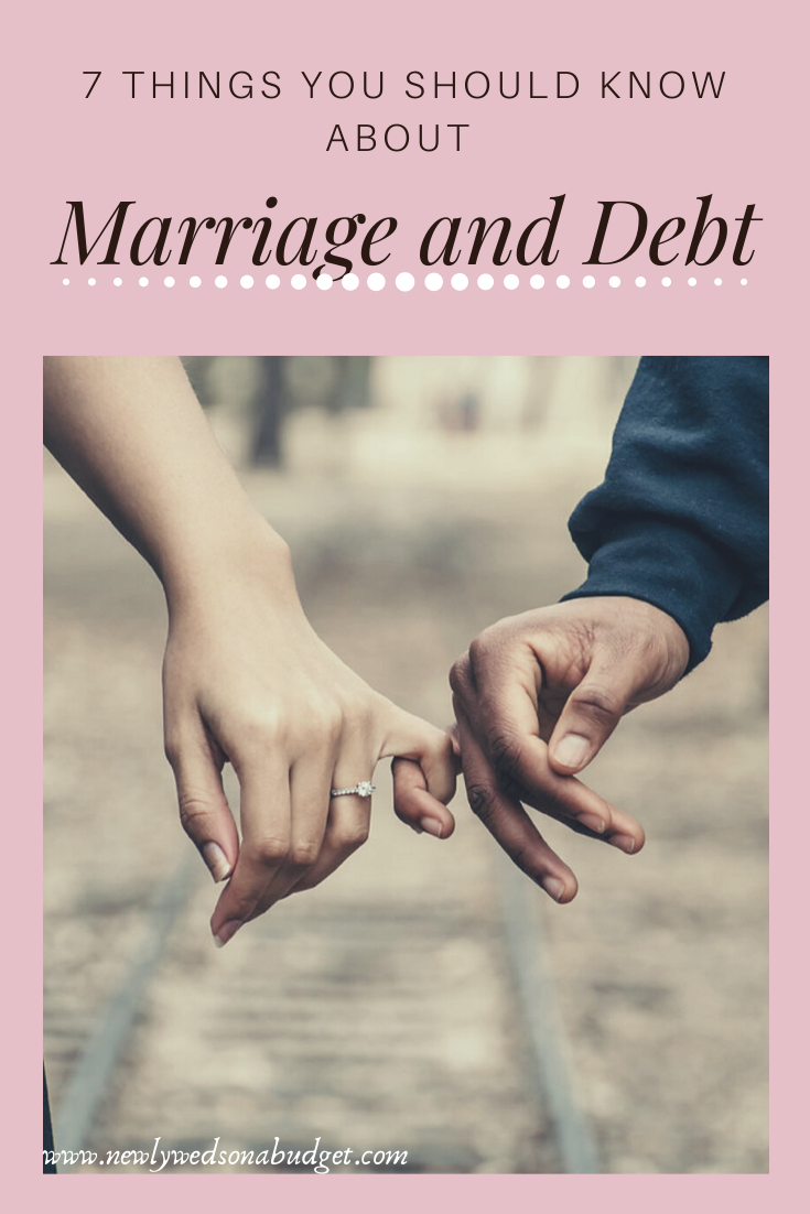 7 Things You Should Know About Marriage and Debt